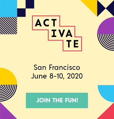 Activate 2020 Promotion. Click here to sign up for Activate 2020